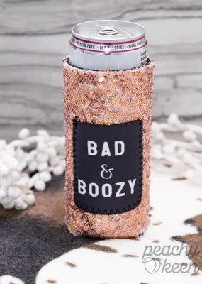 Bad & Boozy Tall Koozie