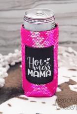 Hot Mess Mama Tall Koozie