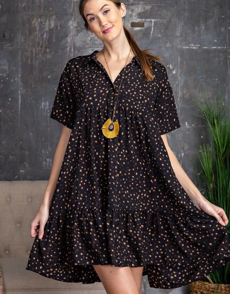 Sweet Thang Leopard Hi-Lo Mini Dress
