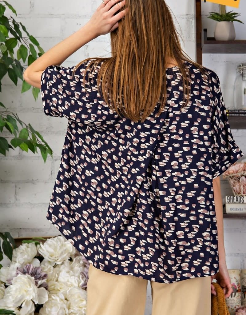 Wild and Free Leopard Top