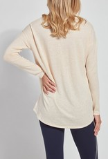 Mya Lightweight Long-Sleeve Tee