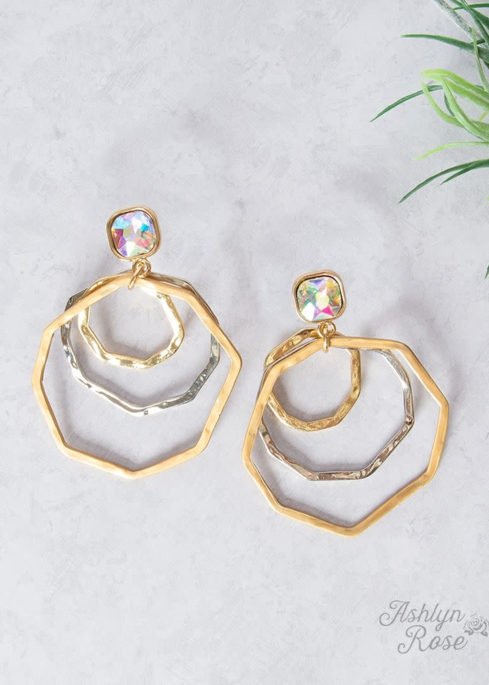 Get to Know Me Circle Earrings