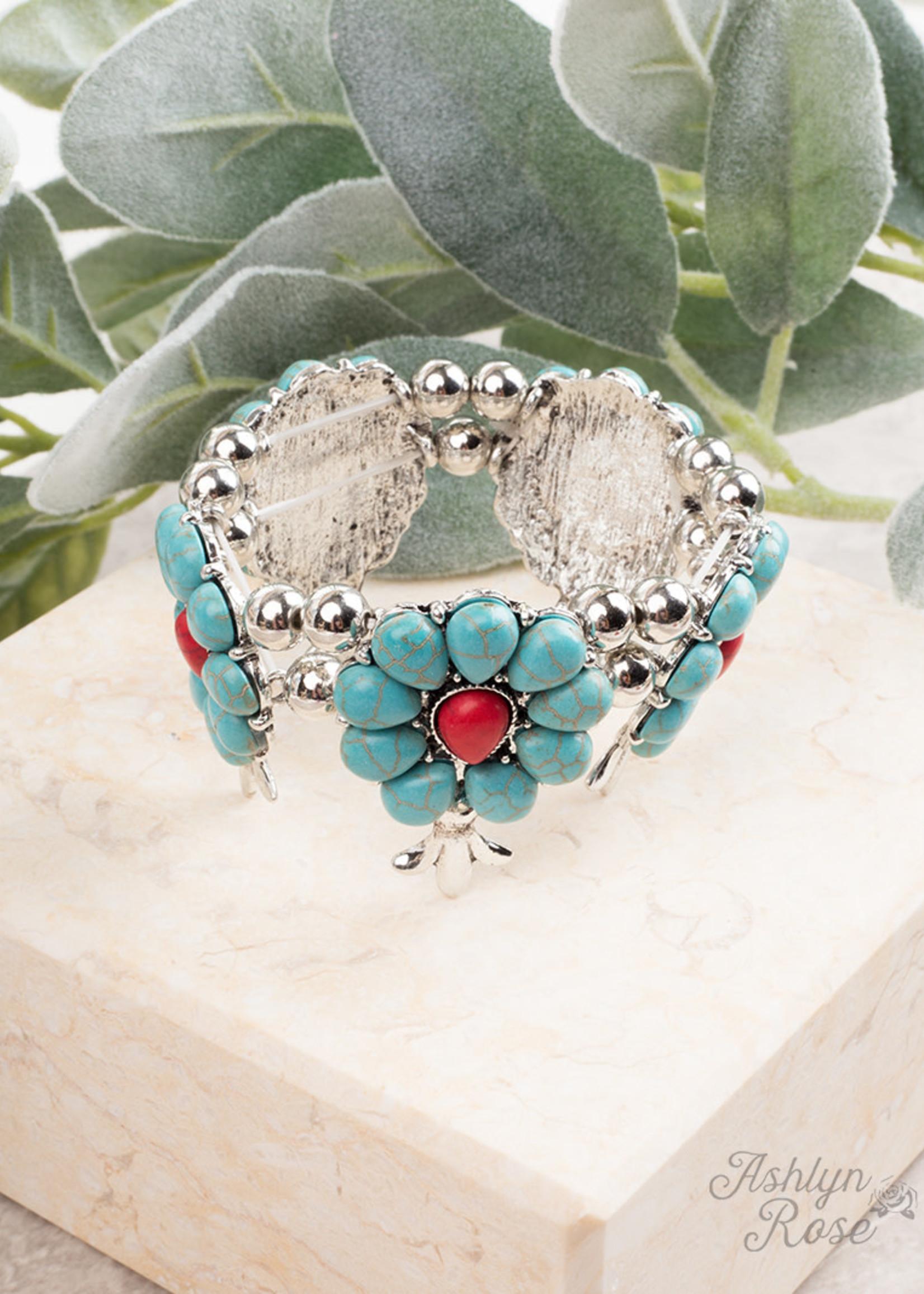 Saddle Up Stone Bracelet