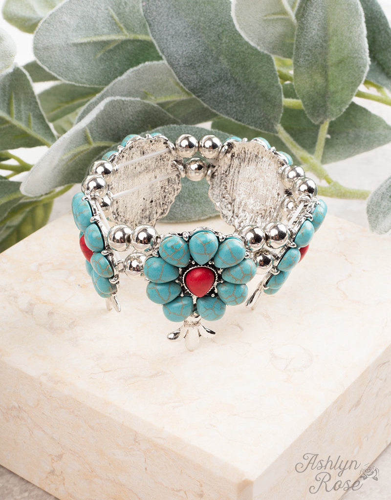Saddle Up Stone Bracelet