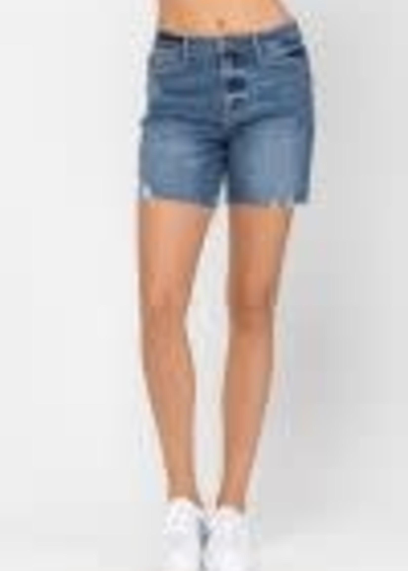 High Waist Mid Thigh Shorts