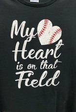 My Heart is on the Field Tee