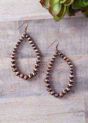 Pearls Teardrop Earrings