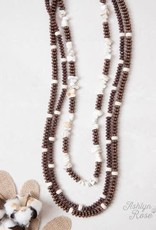 Multi-Layered Chunky Stone Necklace