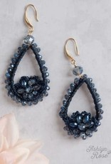 Doily Drop Beaded Earrings