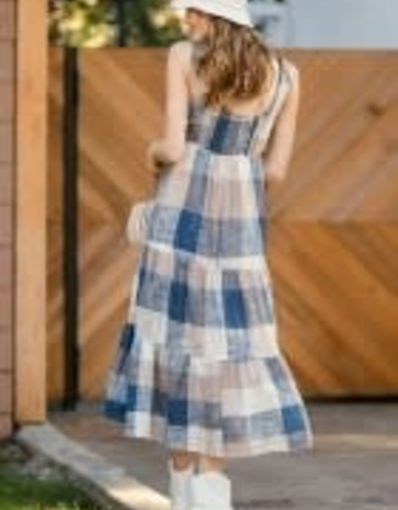 Obsessed Patchwork Sun Dress