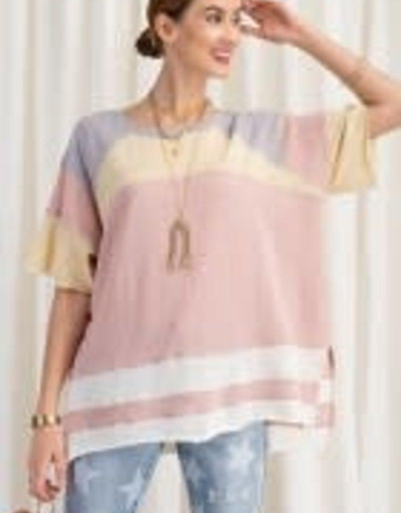 Short Sleeve Cotton Jersey Top