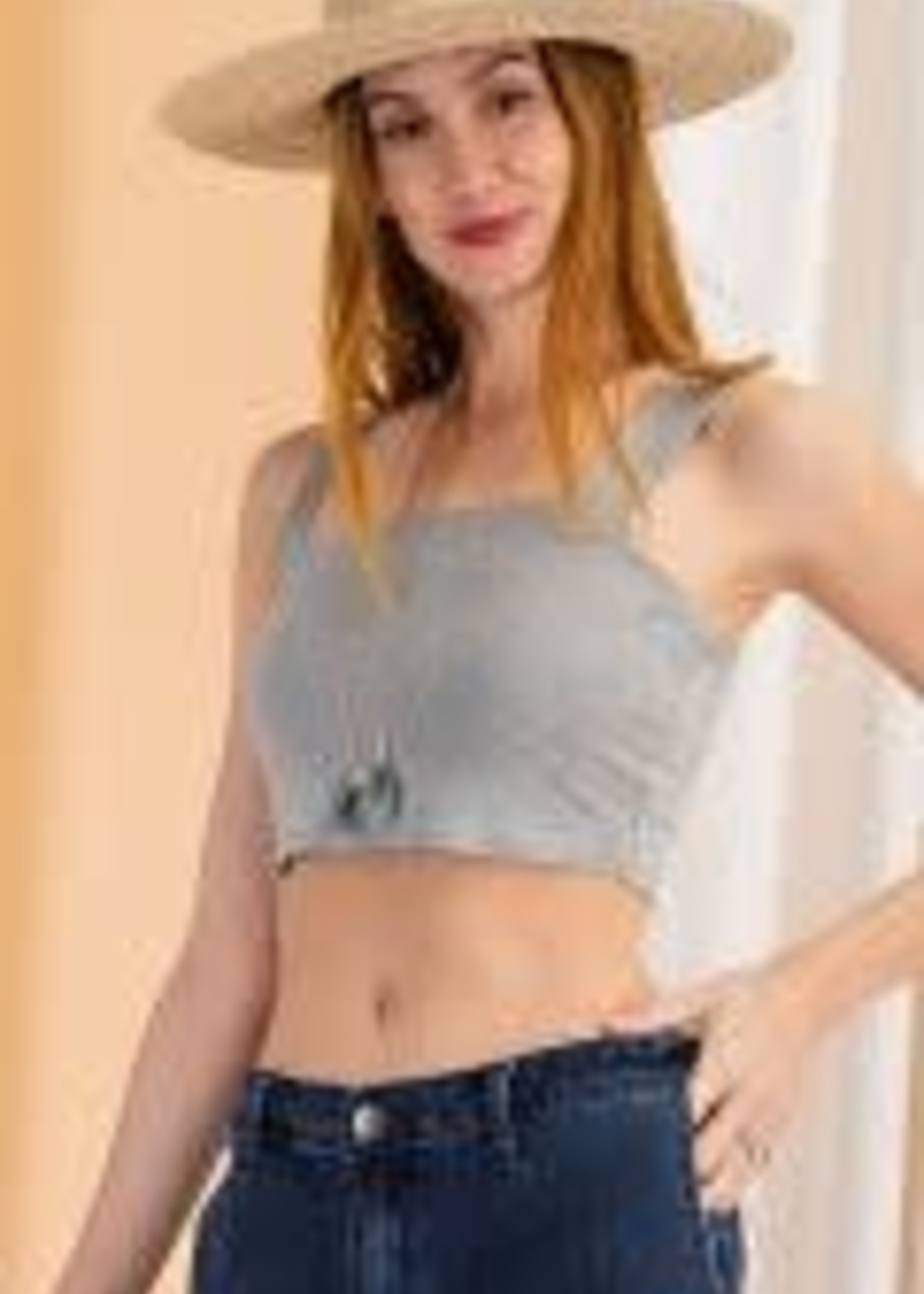Cotton Lycra Fitted Bralette