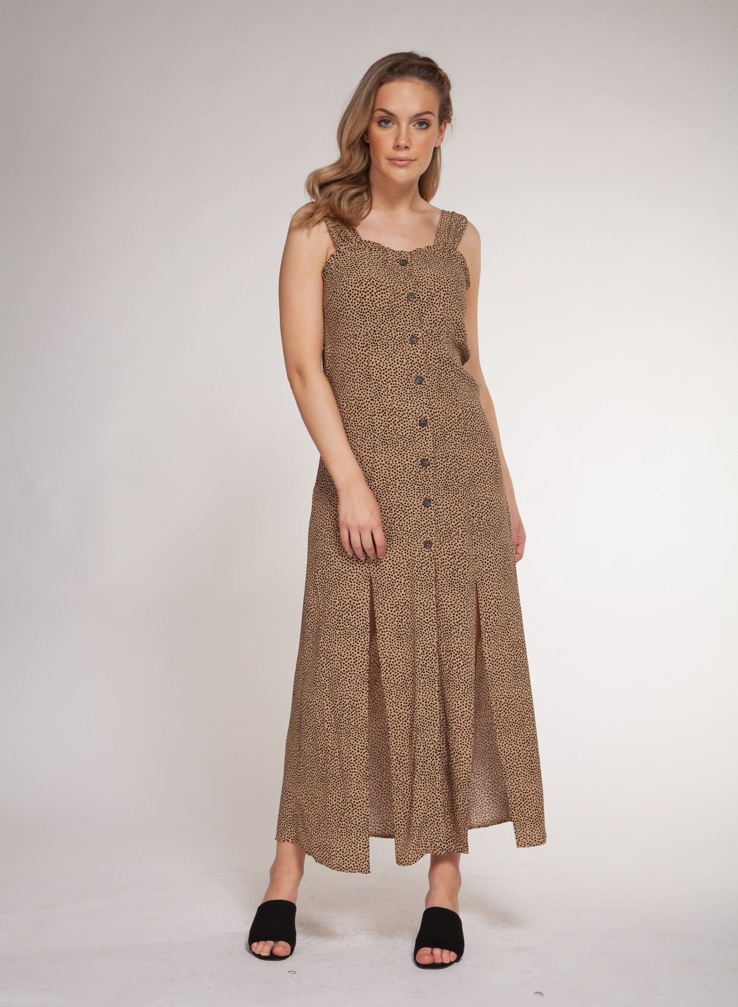 DEX LONG DRESS W SLITS