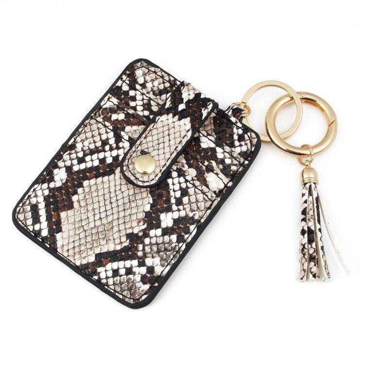 2 CHIC CHICKS CREDIT CARD WALLET KEY CHAIN