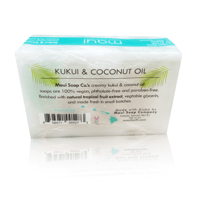 HAWAIIAN PACIFIC NATURALS LLC MAUI BAR SOAP