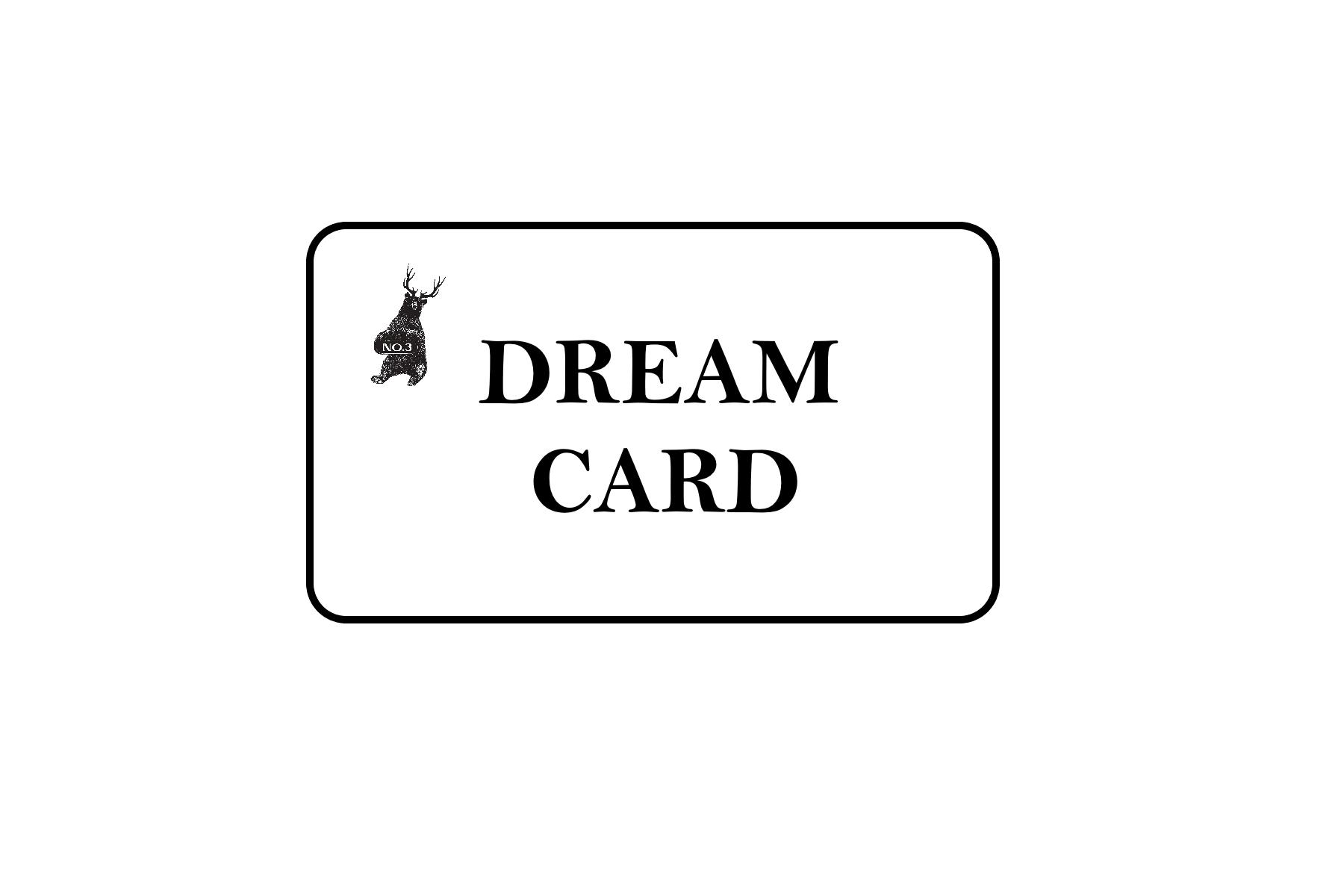 NO3 DREAM CARD