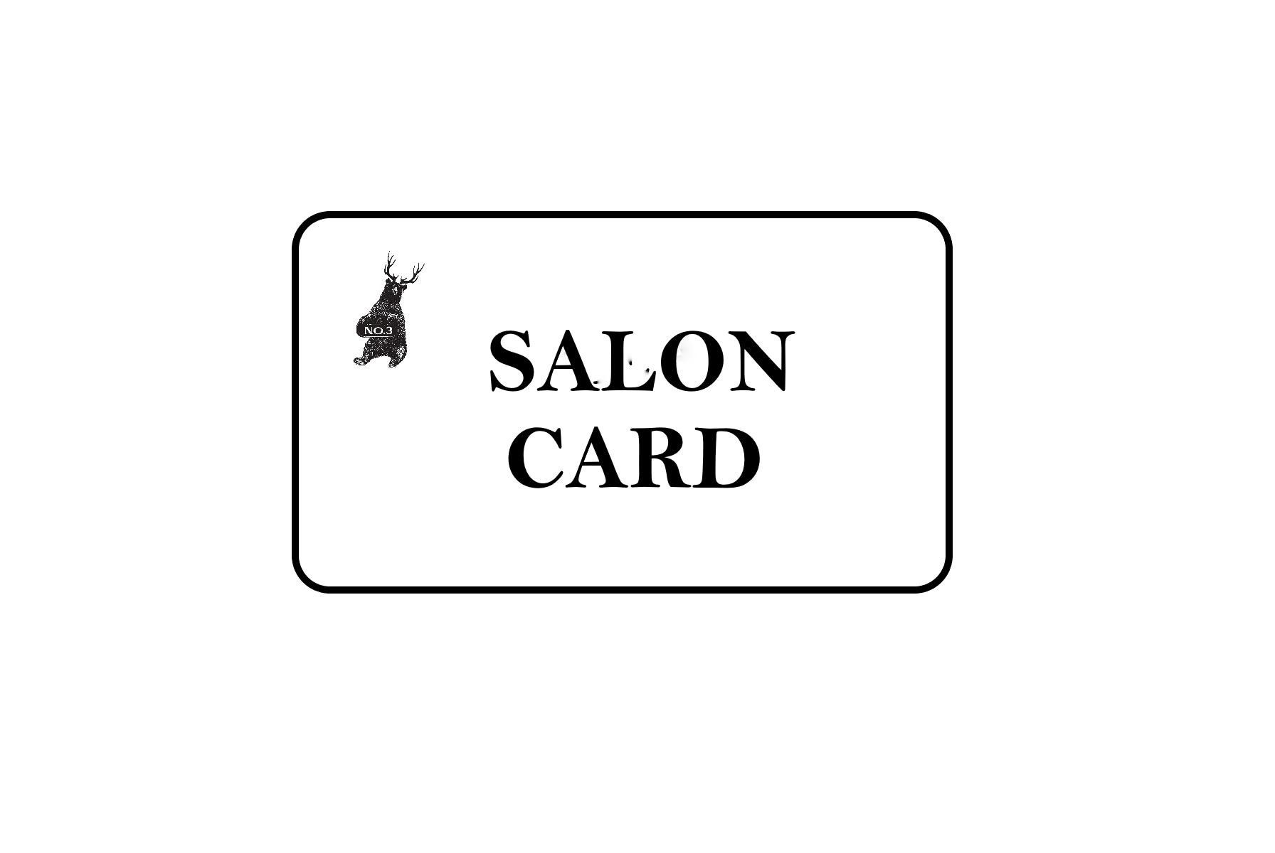 NO3 SALON CARD