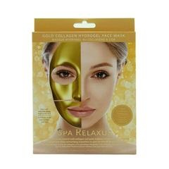 RELAXUS GOLD COLLAGEN HYDROGEL FACE MASK