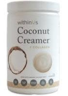 WITHIN US WITHIN US COCONUT CREAMER JAR