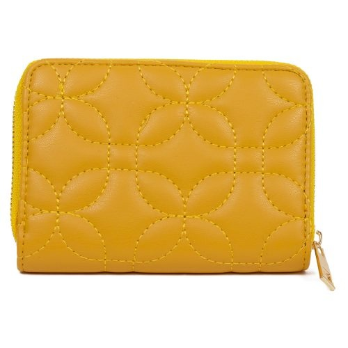 STUDIO 94 WALLET MUSTARD QUILTED SMALL