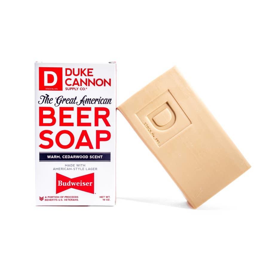 DUKE CANNON SOAP GREAT AMERICAN BUDWEISER