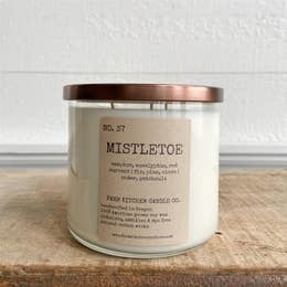 FARM KITCHEN FARM SOY CANDLES MISTLETOE