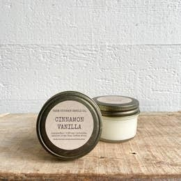 FARM KITCHEN FARM SOY CANDLES CINNAMON VANILLA