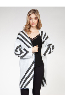 DEX EYELASH OPEN CARDIGAN