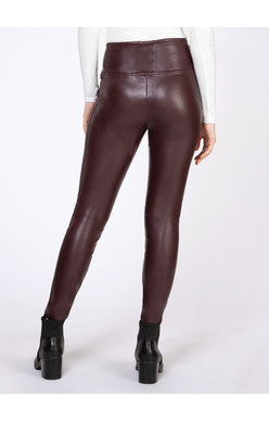 DEX HIGH WAISTED FAUX LEATHER LEGGING