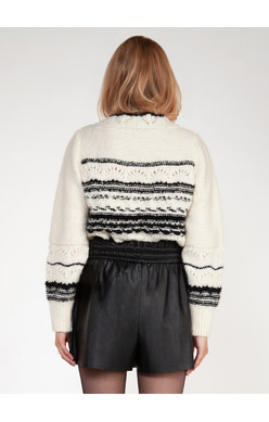 DEX WESTERN STRIPE SWEATER