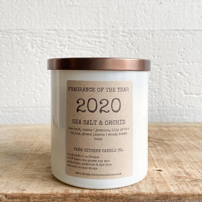 FARM KITCHEN FARM SOY CANDLES 2020 FRAGRANCE OF THE YEAR
