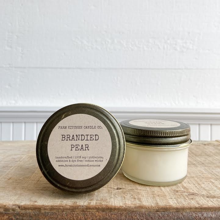 FARM KITCHEN FARM SOY CANDLES BRANDIED PEAR