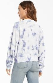 ZSUPPLY CLAIRE CLOUD TIE DYE TOP