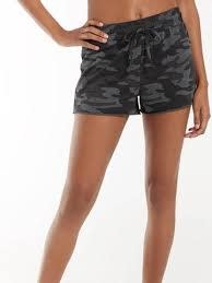 ZSUPPLY CAMO SPORTY SHORT DARK CHARCOAL
