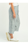 DEX PULL ON WIDE LEG STRIPED PANT