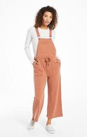 ZSUPPLY CINCHED WAIST OVERALLS