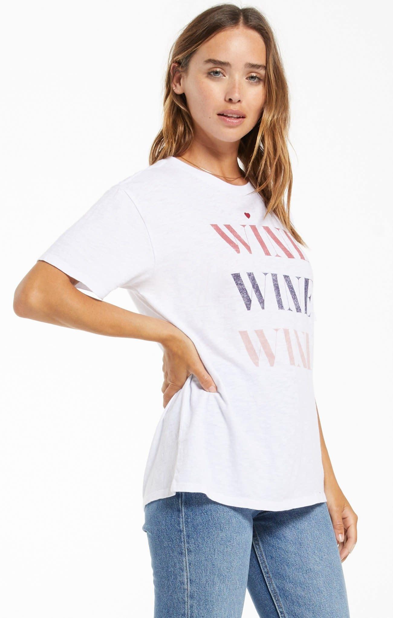 ZSUPPLY WINE WINE WINE TEE