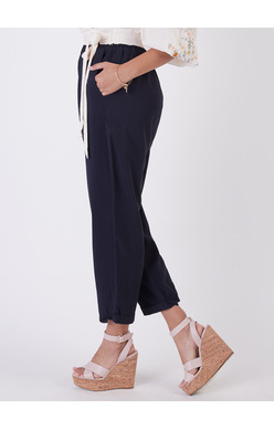 DEX PULL ON PAPERBAG WAIST BUTTONED PANT