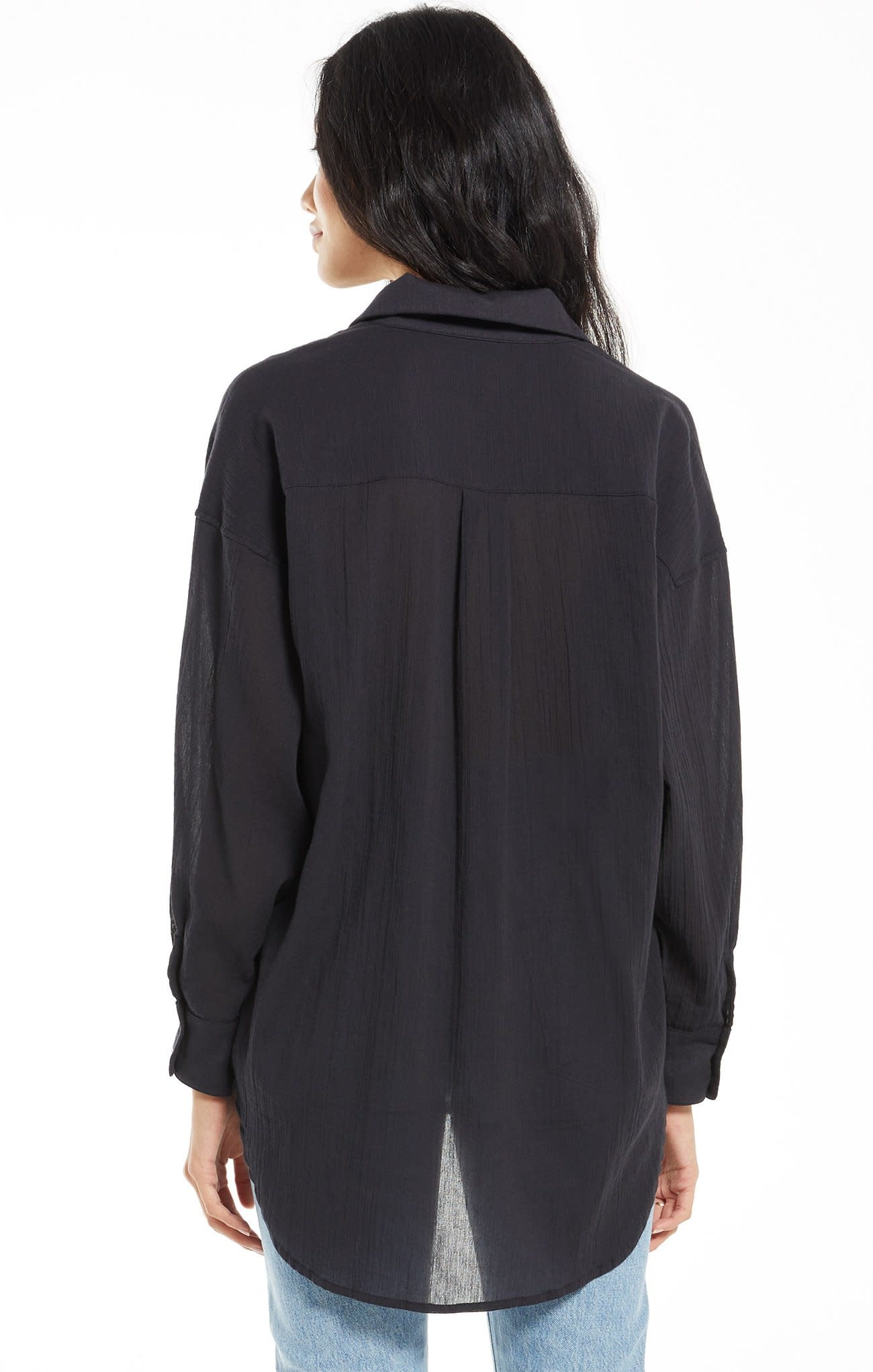 ZSUPPLY LALO BUTTON UP - BLACK