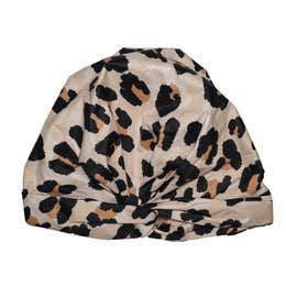 KITSCH LUXE SHOWER CAP LEOPARD
