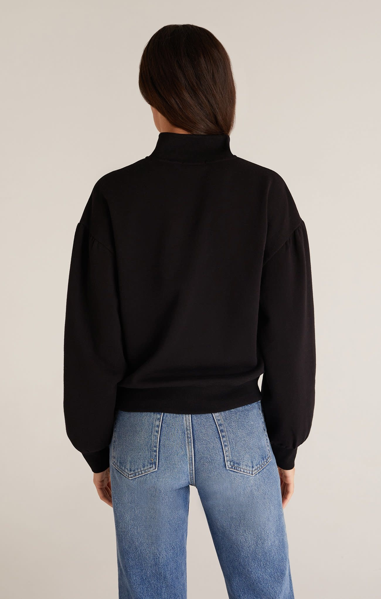 ZSUPPLY MONICA HENLEY PULLOVER WITH FULL SLEEVE