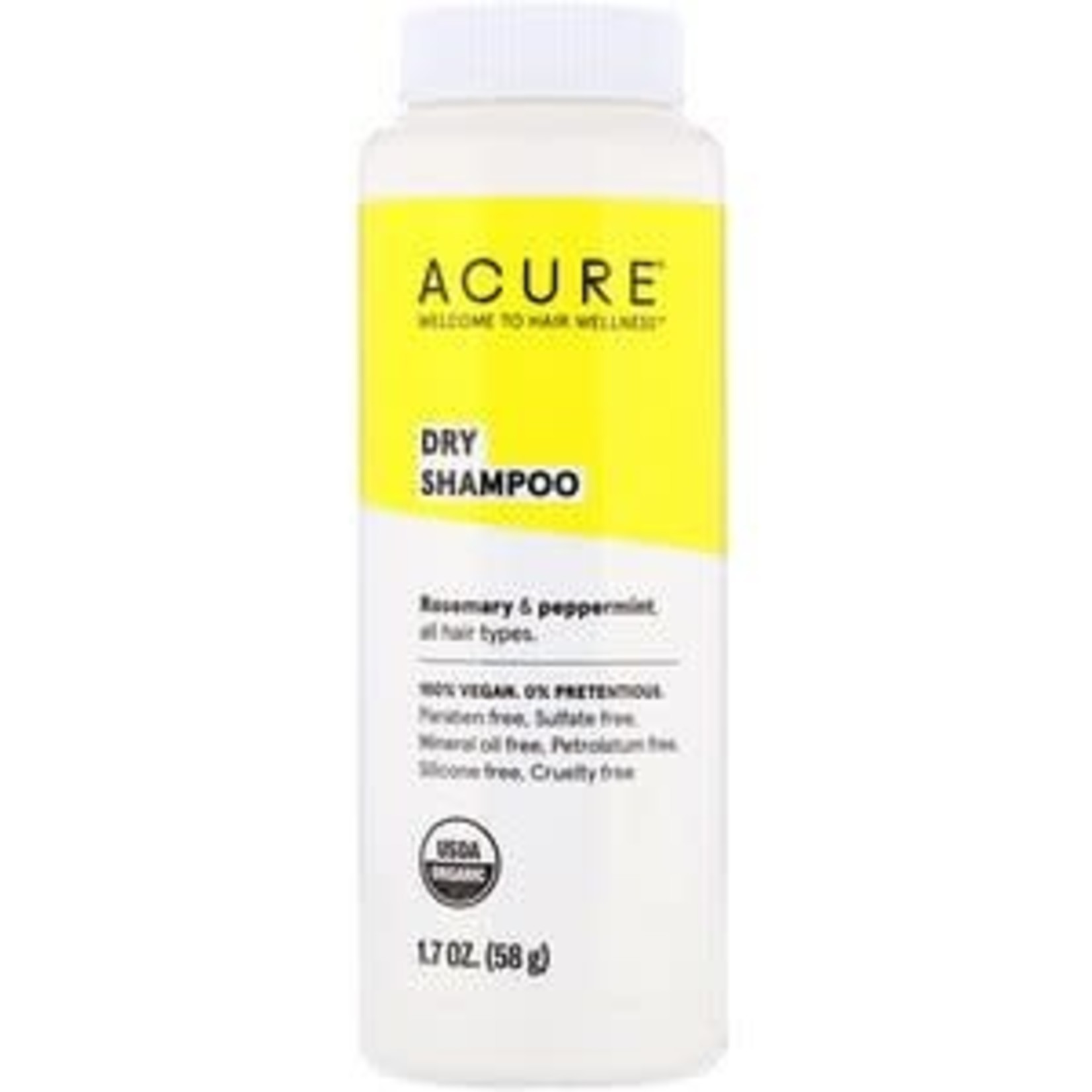 Acure Acure Dry Shampoo Rose & Peppermint