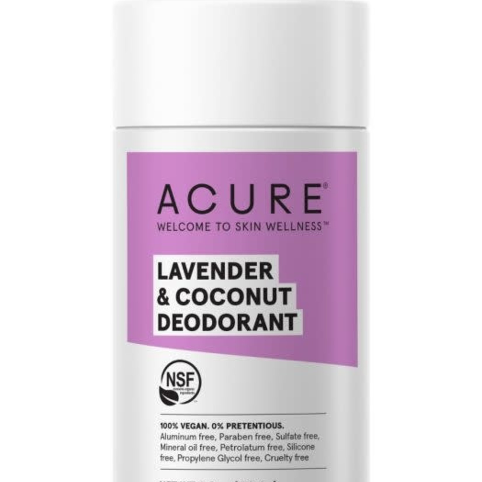 Acure Acure Lavender & Coconut Deodorant