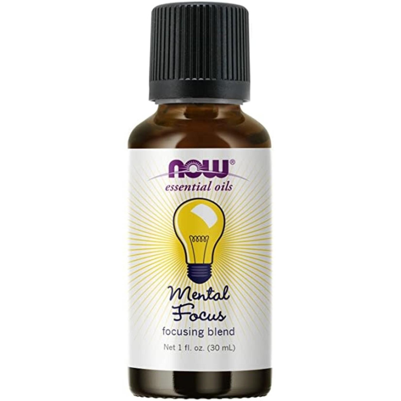 Now Now Focus Concentration Essential Oil Blend 30ml