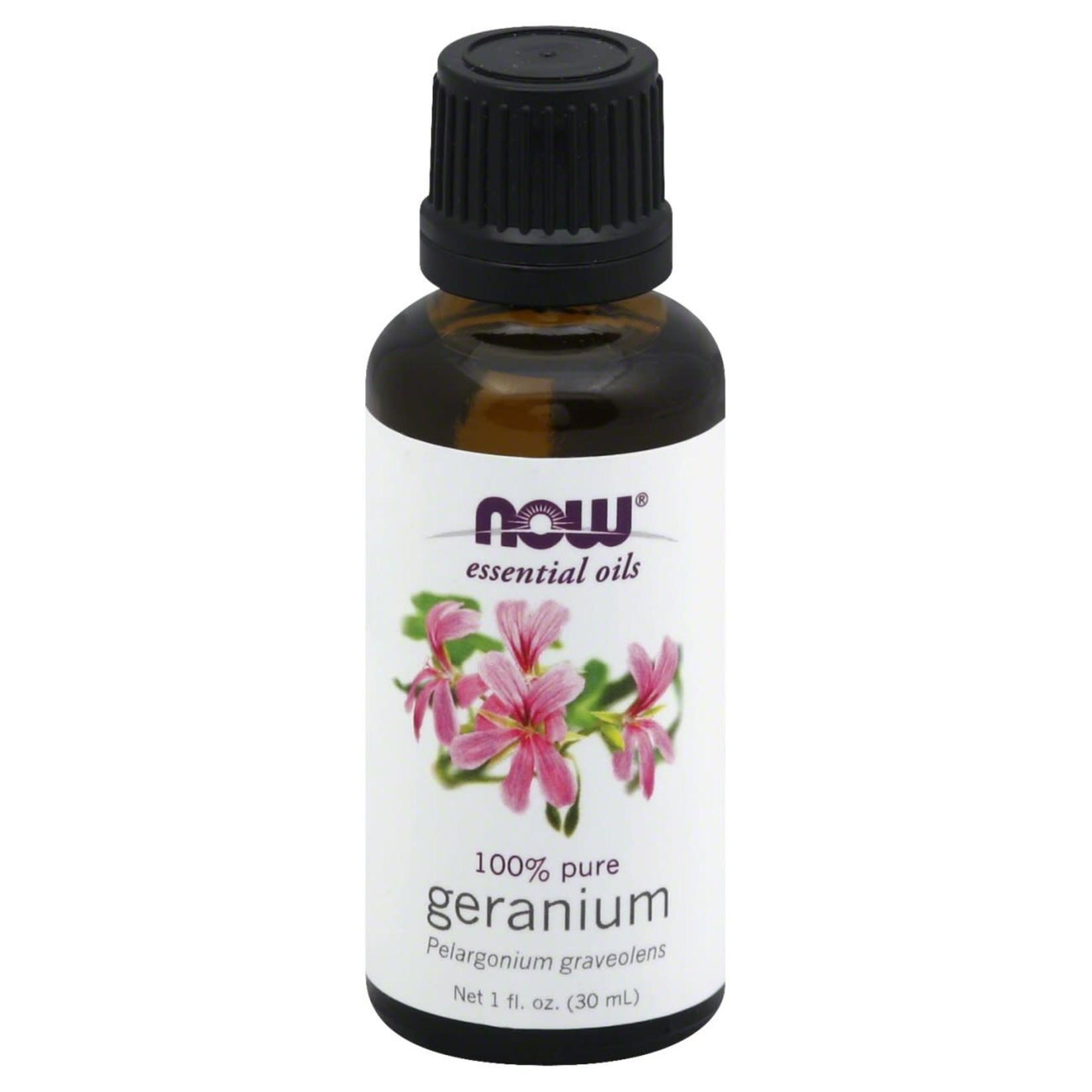 Now Now Geranium Essential Oil 30ml