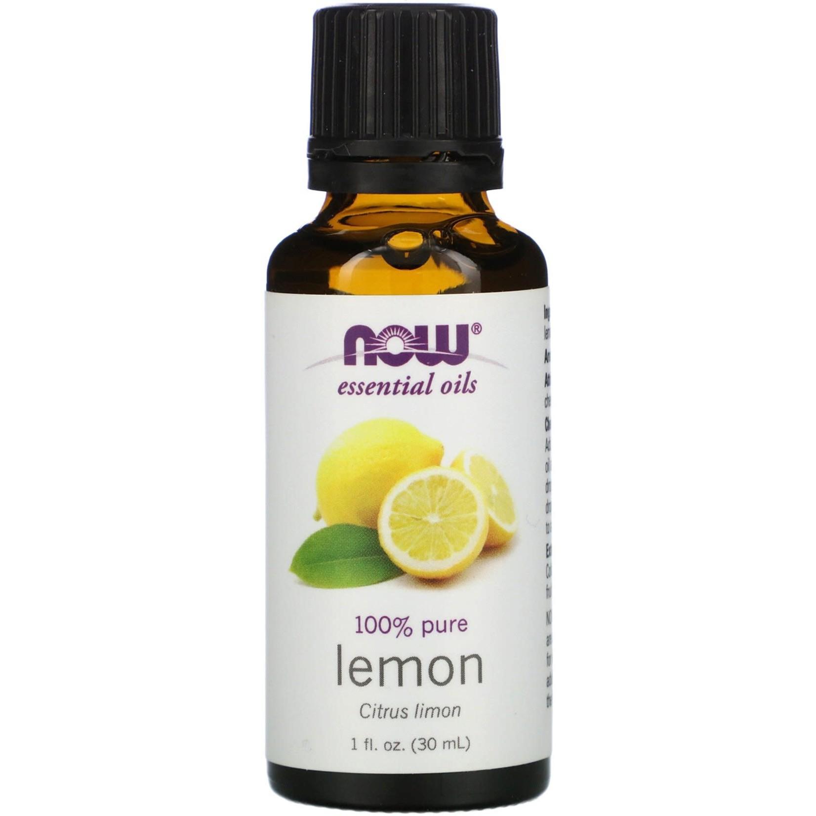 Now Now Lemon Essential Oil 30ml