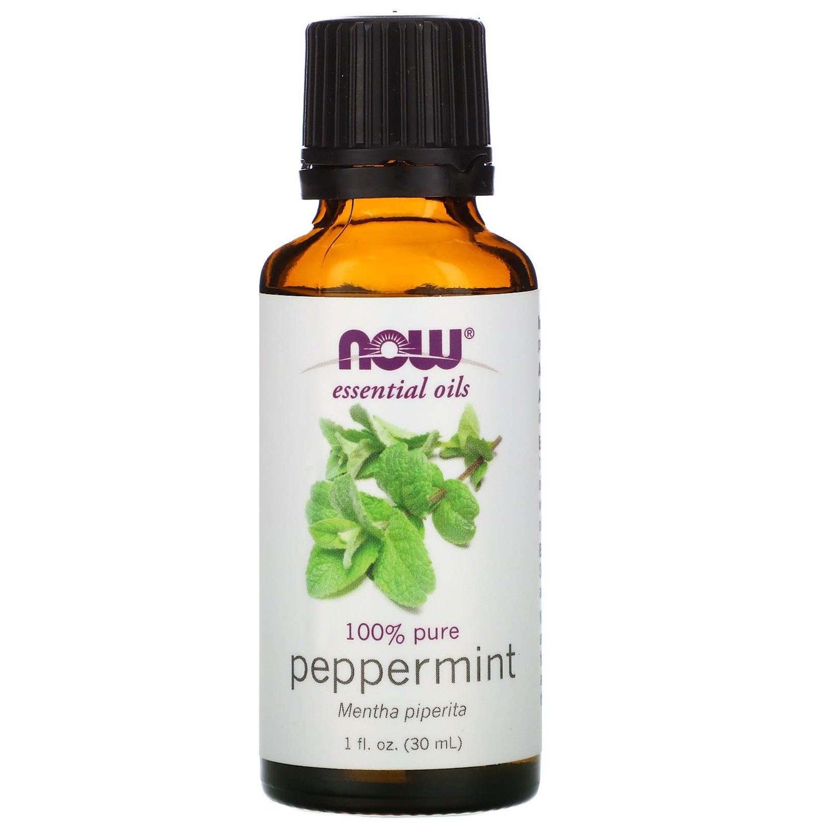 Now Now Peppermint Essential Oil 30 ml