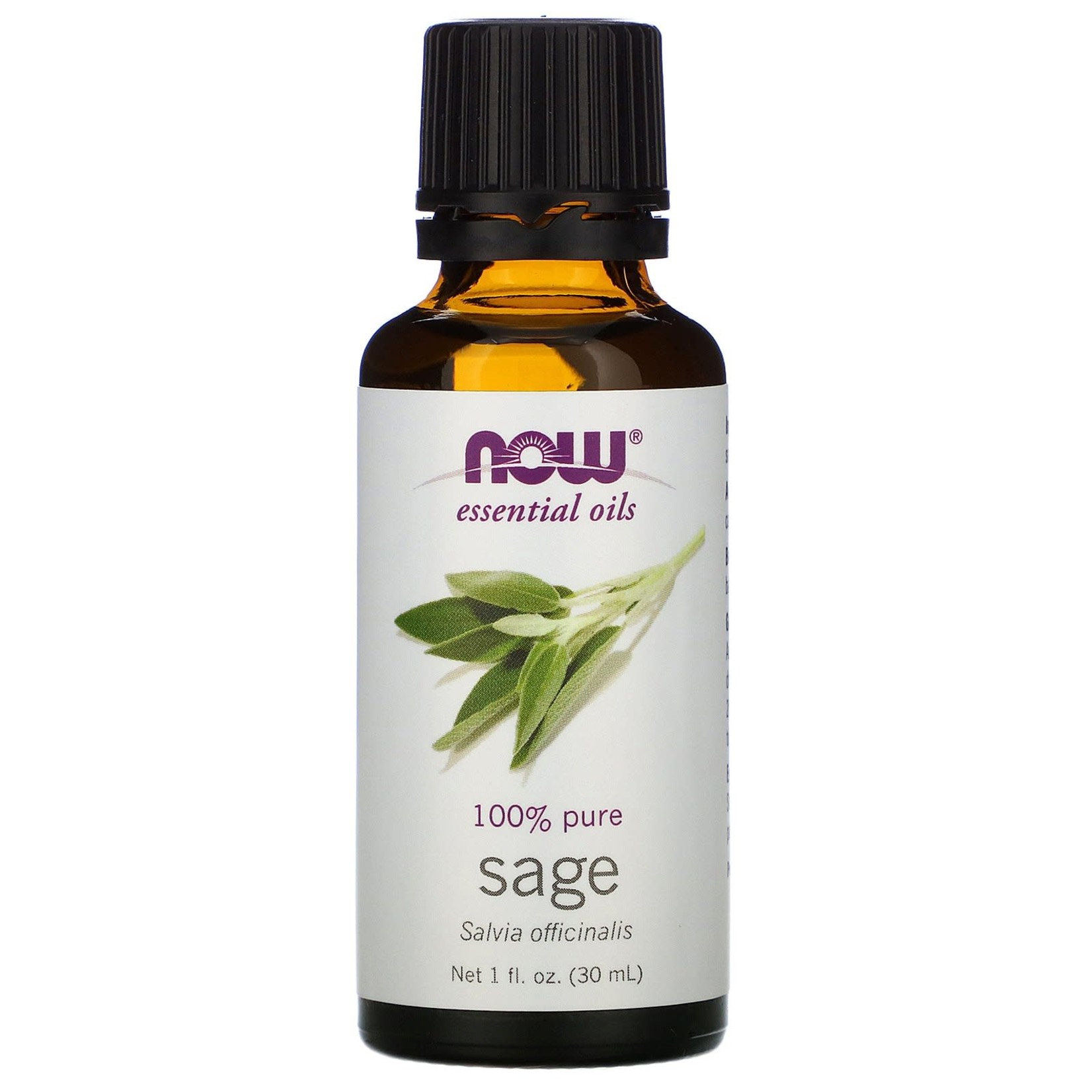 Now Now Sage Essential Oil 30ml