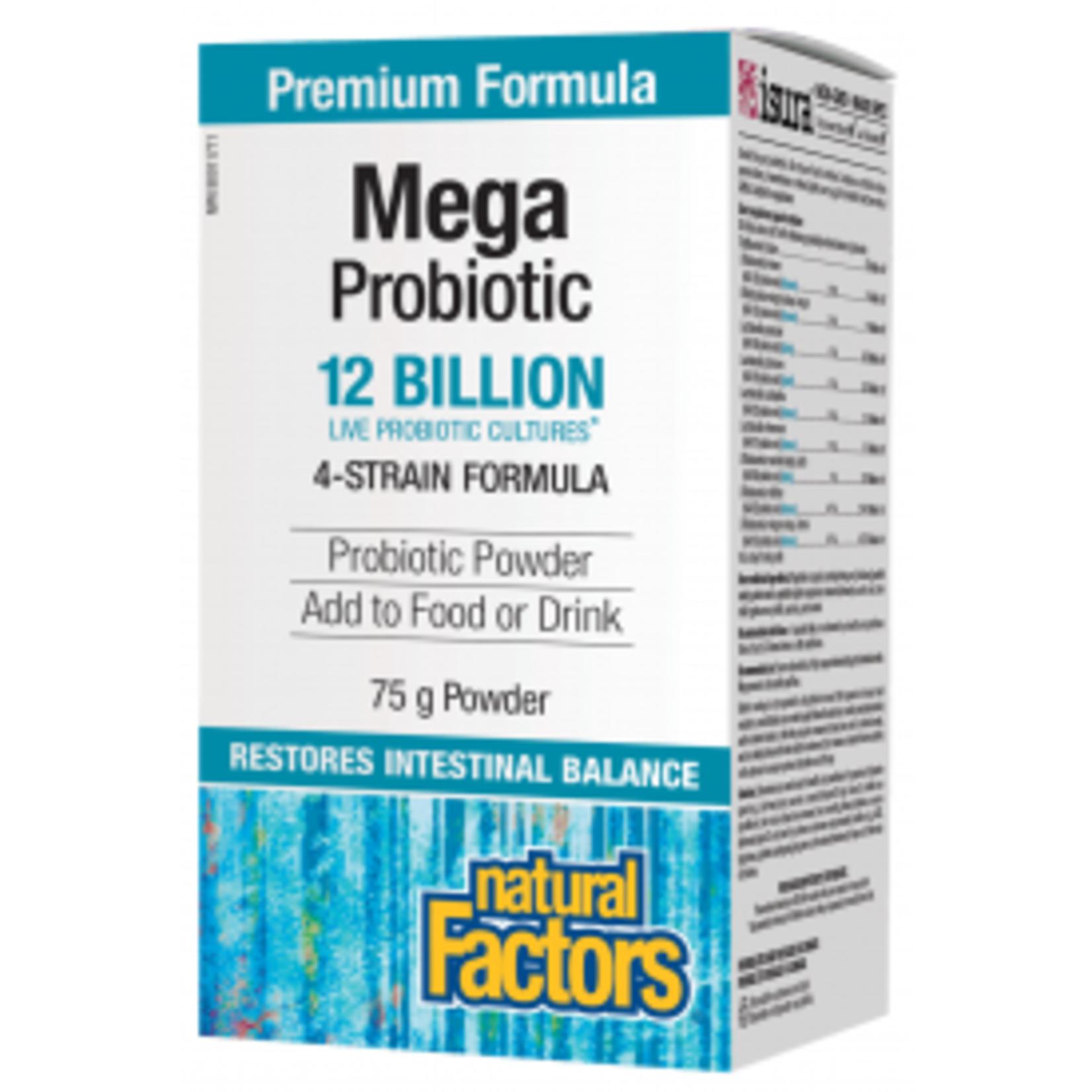 Natural Factors Natural Factors Mega Probiotic 12 Billion 75 g powder