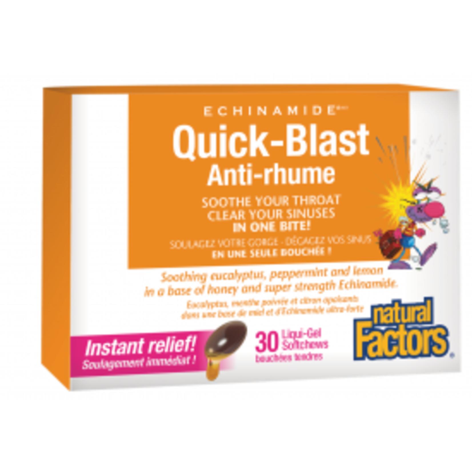 Natural Factors Natural Factors Quick Blast 30 softchews